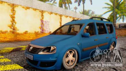 Dacia Logan MCV for GTA San Andreas