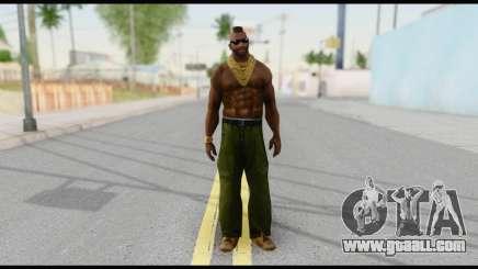 MR T Skin v3 for GTA San Andreas