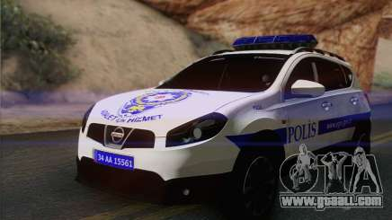 Nissan Qashqai TR POLICE for GTA San Andreas