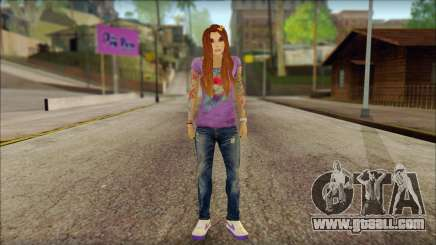 Valentine Girl for GTA San Andreas
