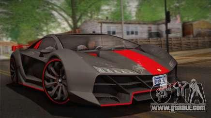 GTA 5 Zentorno (IVF) for GTA San Andreas