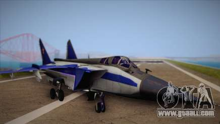 MIG-31 from H.A.W.X. for GTA San Andreas
