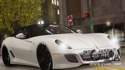 Ferrari 599 GTO for GTA 4