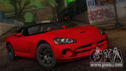 Dodge Viper SRT-10 2003 for GTA San Andreas