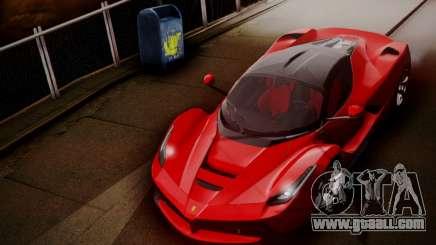 Ferrari LaFerrari F70 2014 for GTA San Andreas