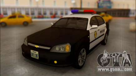 Chevrolet Evanda Police for GTA San Andreas