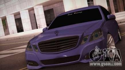 Mercedes-Benz W212 for GTA San Andreas