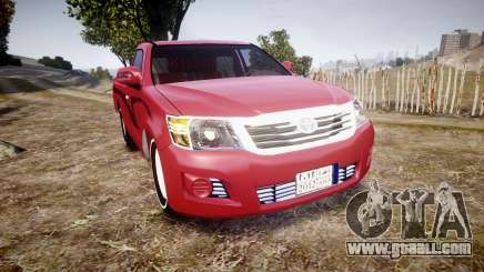 Toyota Hilux 2014 for GTA 4