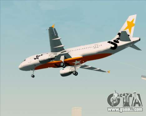 Airbus A320-200 Jetstar Airways for GTA San Andreas right view