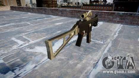 Gun UMP45 A army fans the leather AU for GTA 4 second screenshot