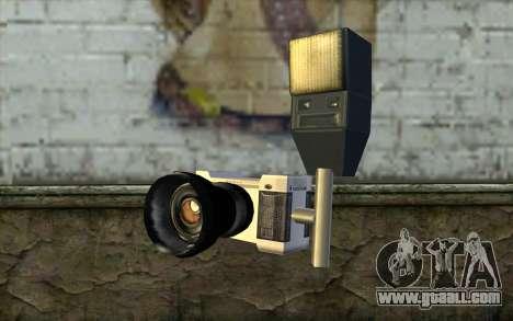 Camera from Beta Version for GTA San Andreas