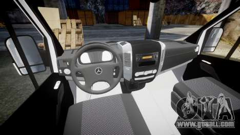 Mercedes-Benz Sprinter ARM Ambulance [ELS] for GTA 4 back view