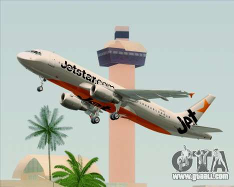 Airbus A320-200 Jetstar Airways for GTA San Andreas