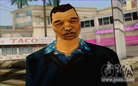 Yakuza from GTA Vice City Skin 2 for GTA San Andreas third screenshot