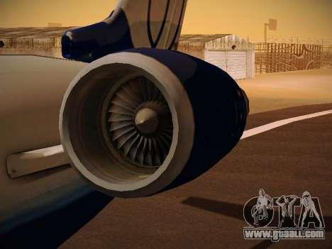 Bombardier CRJ-700 United Express for GTA San Andreas interior