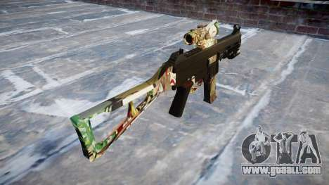 Gun UMP45 Ronin for GTA 4 second screenshot