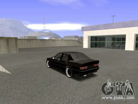 Mercedes-Benz 190E 3.2 AMG for GTA San Andreas back left view