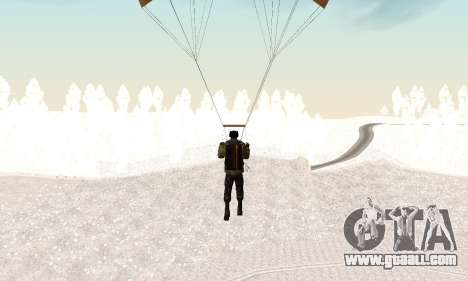 New parachute for GTA San Andreas forth screenshot