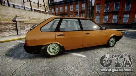 VAZ-2109 1500 i for GTA 4 left view