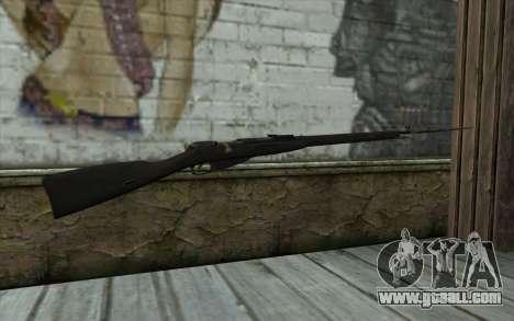 The Mosin-v10 for GTA San Andreas second screenshot