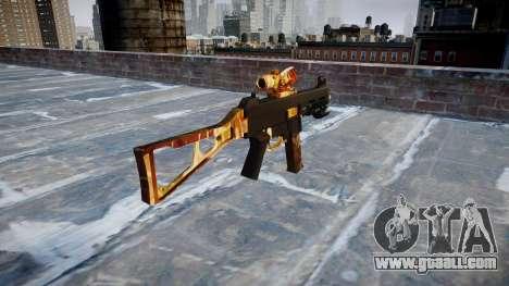 Gun UMP45 Elite for GTA 4 second screenshot