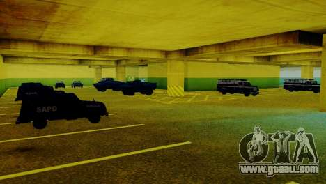 New vehicles in the LVPD for GTA San Andreas
