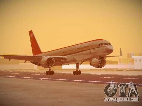 Boeing 757-251 Northwest Airlines for GTA San Andreas left view