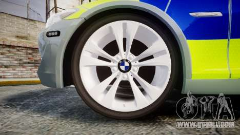 BMW 530d F11 Metropolitan Police [ELS] for GTA 4 back view