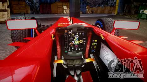 Ferrari F138 v2.0 [RIV] Alonso TFW for GTA 4 inner view