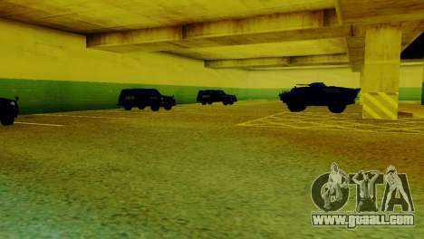 New vehicles in the LVPD for GTA San Andreas second screenshot
