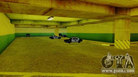 New vehicles in the LVPD for GTA San Andreas third screenshot