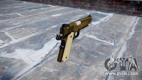 Gun Kimber KDW for GTA 4 second screenshot