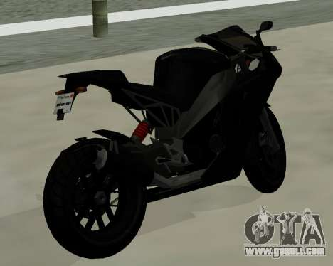 CarbonRS for GTA San Andreas left view