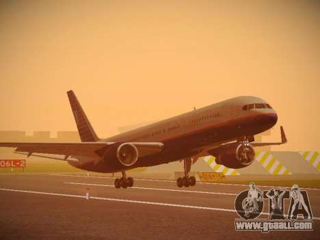 Boeing 757-224 United Airlines for GTA San Andreas left view