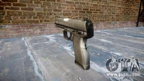 Pistol Taurus 24-7 black icon2 for GTA 4 second screenshot