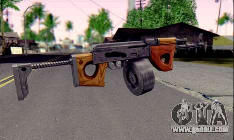 Imported AK for GTA San Andreas second screenshot
