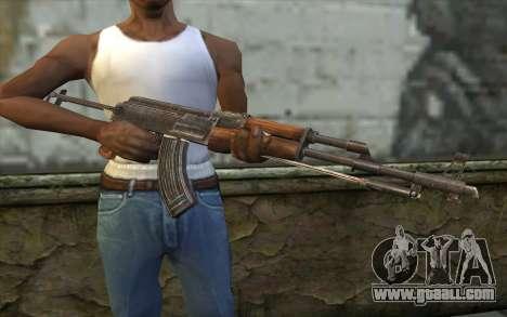 Тип 56-1 (АКМС) from Battlefield: Vietnam for GTA San Andreas third screenshot