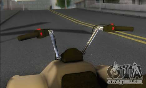 New Quad for GTA San Andreas back left view