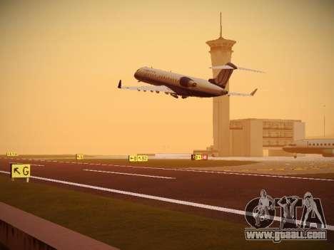 Bombardier CRJ-700 United Express for GTA San Andreas