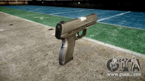Pistol Taurus 24-7 black icon3 for GTA 4 second screenshot