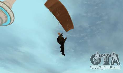 New parachute for GTA San Andreas fifth screenshot