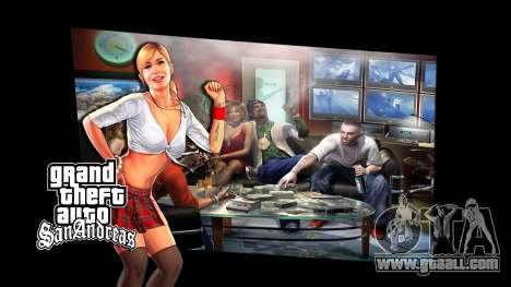 The loading screens for GTA San Andreas third screenshot