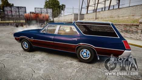 Oldsmobile Vista Cruiser 1972 Rims2 Tree4 for GTA 4 left view