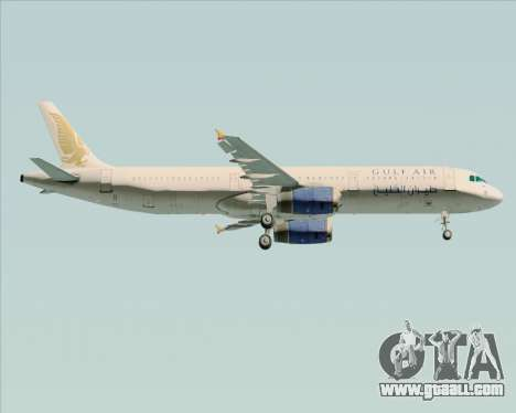 Airbus A321-200 Gulf Air for GTA San Andreas engine