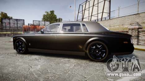 Rolls-Royce Phantom EWB for GTA 4 left view