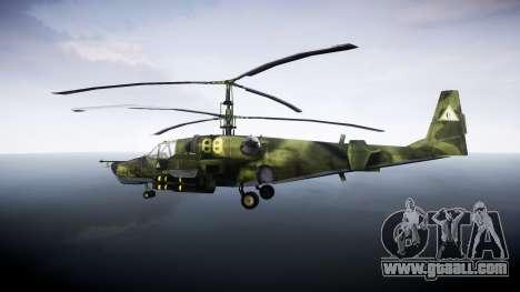 Ka-50 Black shark for GTA 4 left view