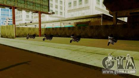 New vehicles in LSPD for GTA San Andreas third screenshot