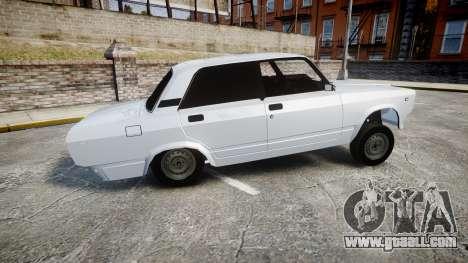 ВАЗ-2107 Avtosh Style for GTA 4 left view