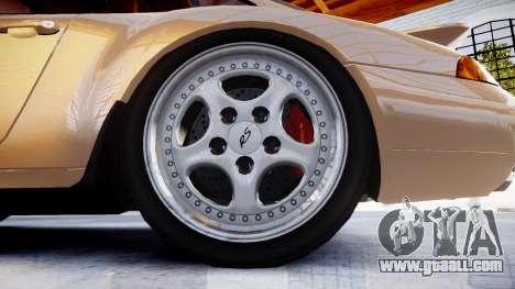 Porsche 911 Carrera RS 993 1995 for GTA 4 back view
