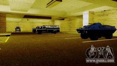 New vehicles in LSPD for GTA San Andreas forth screenshot